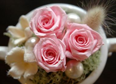 詳細2petite fleur(ピンク):プリザーブドフラワー