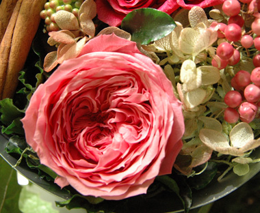 詳細2Round Gift Box (S) Pink:プリザーブドフラワー
